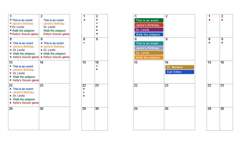 Calendar Typography Yahoo : Yahoo calendar visual design portfolio